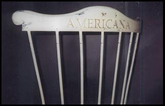 Back of Americana Chair