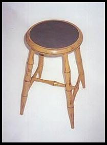 Round Seat Windsor Stool